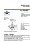 Model 106-IDC / 206-IDC - Internal Drop Check (IDC) Brochure