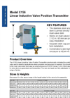 Model X156 - Linear Inductive Valve Position Transmitter Brochure