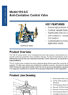 Model 106-AC - Anti-Cavitation Control Valve Brochure