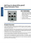 Model RPS-L&H-ET - Surge Anticipator Panel (SAP) Brochure