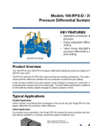 Models 106-RPS-D / 206-RPS-D - Pressure Differential Sustaining Valve Brochure