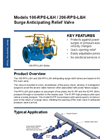 Models 106-RPS-L&H / 206-RPS-L&H - Surge Anticipating Relief Valve Brochure