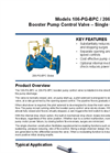 Models 106-PG-BPC / 206-PG-BPC - Booster Pump Control Valve – Single Chamber Brochure