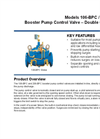 Models 106-BPC / 206-BPC - Booster Pump Control Valve – Double Chamber Brochure