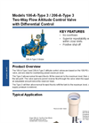Models 106-A-Type 3 / 206-A-Type 3 - Two-Way Flow Altitude Control Valve with Differential Control Brochure