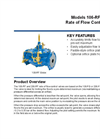 Models 106-RF / 206-RF - Rate of Flow Control Valve Brochure