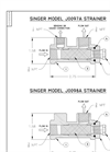 J0098A / J0097A Strainers Operations Guide