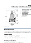 Model 106-RD - Differential Relief Pilot (Normally Closed) Datasheet