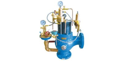 Singer Valve - Model A106-DL-Air / A106-DL-ET - Dynamic Lifter Air Operated Pressure Relief Valve