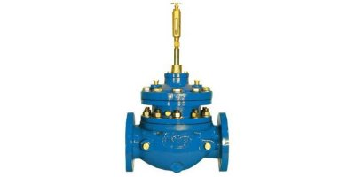 Singer Valve - Model 106/S106-PGM - Full Port, Integral Back-Up, Dual Diaphragm, Automatic Control Valve