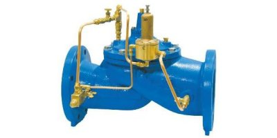 Singer Valve - Model 106/206-RPS - Pressure Sustaining Valves