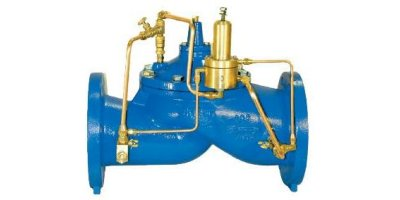 Singer Valve - Model 106/206-RPS-D - Pressure Differential Sustaining Valve