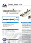 Freedom - Model LFF4 Series - Stainless Steel Sanitary Food Grade Progressive Cavity Pump  Brochure