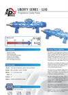 Model LL10 Series - Thickened Flow Mediums and Liquid Slurry Pump Brochure