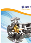 Model SCP - End Suction Centrifugal Pump Brochure