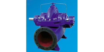 Model PS Series - Double Suction Horizontal Split Case Centrifugal Pump