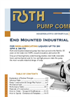 End Mounted Industrial Pumps - Brochure