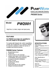 PW2001 High Flow, UL-Listed, Single Rate Liquid Pump Brochure