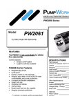 PW2061 UL-Listed, Single Rate Liquid Pump Brochure