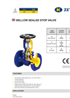 Model Fig. 234 - Bellow Valve Brochure