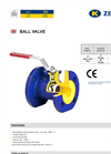 zBAL - Model Fig. 565 - Ball Valve Brochure