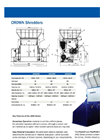 Crown Shredder Brochure