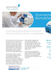Biomaster - Stomacher - Model 80 - Laboratory Paddle Blender Unit Brochure