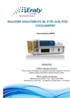 Model MIPO 5 - Halogen / Chlorine Analyzer Brochure