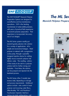 Model ML Series - Mannich Polymer Preparation Systems Brochure