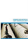Fiberglass Underground Tank Specification For Petroleum Storage Brochure