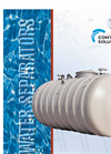 Underground Oil/Water Separators And Interceptors Brochure