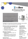 Medora - Model AP2000 & AP4000 - Air-Powered Mixers - Brochure