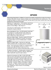 Medora - Model AP2000 & AP4000 - Air-Powered Mixers - Technical Data Sheet