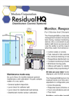 Medora Corporation ResidualHQ - Disinfectant Control Systems - Brochure