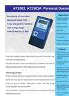 ATOMTEX - Model AT2503 and AT2503A - Personal Dosimeter - Brochure