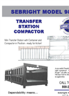 Sebright - 9884-T - Transfer Station Compactor Brochure