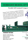 Sebright - CP 7460-HD - Portable Self-Contained Compactor Brochure