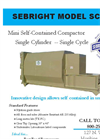 Sebright - SC-3548 - Mini Self-Contained Compactor Brochure