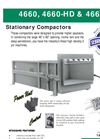 Sebright - 4660, 4660-HD & 4660-2 - Industrial Stationary Compactor Brochure