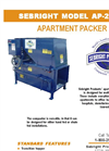 Sebright - AP-2430 - Apartment Compactors Brochure