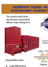 Sebright - 4060 - Stationary Compactor Brochure