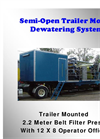 Bright Technologies - Semi-Open Trailer Mount Dewatering System - Brochure