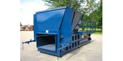Sebright - Model 9860-1-6, 9860-1-7 and 9860-2-6 - Industrial Stationary Compactor (6 Cubic Yard Capacity)