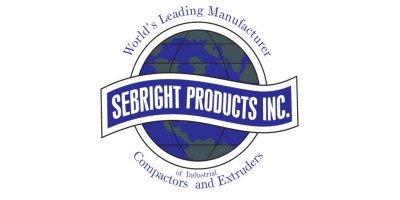 Sebright - Model SC-3260 - Self Contained Compactor (1.3 Cubic Yard Capacity)
