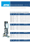 Vertical Shaft Boosters Pump Brochure