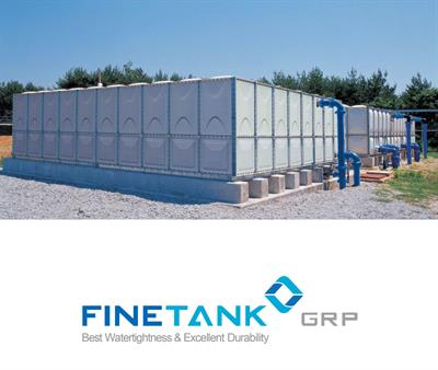 FINETANK - Model H&L GLOBAL - GRP Sectional Water Tank