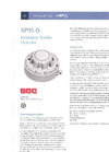 Model XP95 - Intrinsically Safe Ionization Smoke Detector Brochure