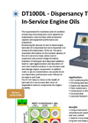 DT100DL - Dispersancy Tester of In-Service Engine Oils Brochure