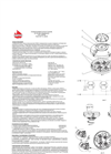 Model FD8040 - Optical Flame Fire Detector Brochure