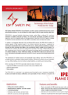 IPES - Model IR/UV - Flame Detector Brochure